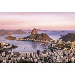 Papier peint photo de la baie de Rio de Janeiro