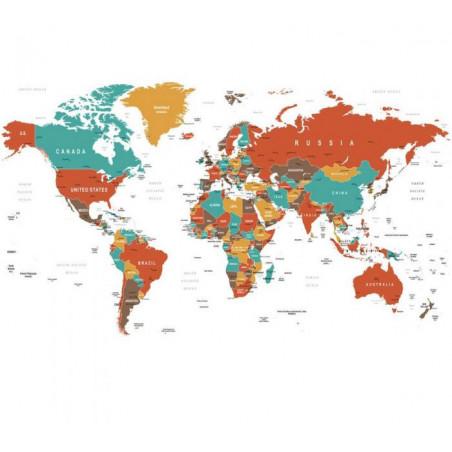 RED MAP Wallpaper