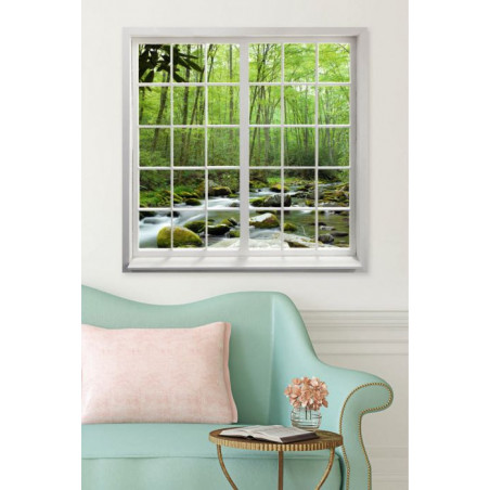 LOOKING AT THE FOREST canvas print