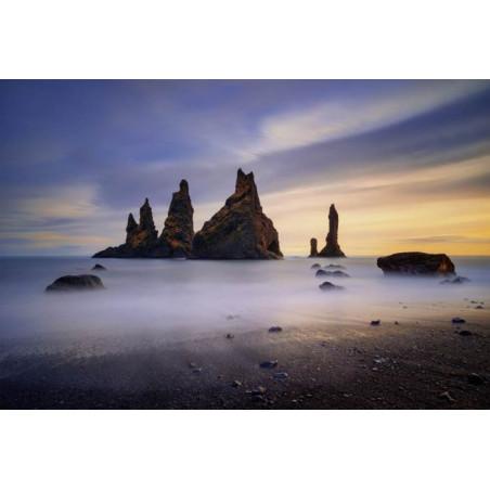 Póster REYNISDRANGAR ISLANDIA