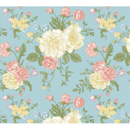 TEA SALON Wallpaper