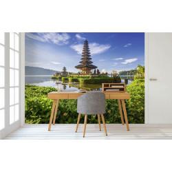 Póster del templo de Bali