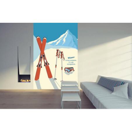 SKI Wall hanging