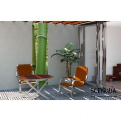 Brise vue vertical zen bambou vert