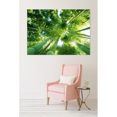 UNDER THE BAMBOO canvas print