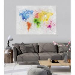 SPLASH THE WORLD Canvas print