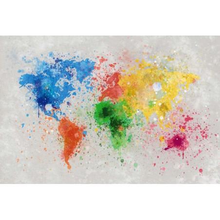 Papel pintado SPLASH THE WORLD