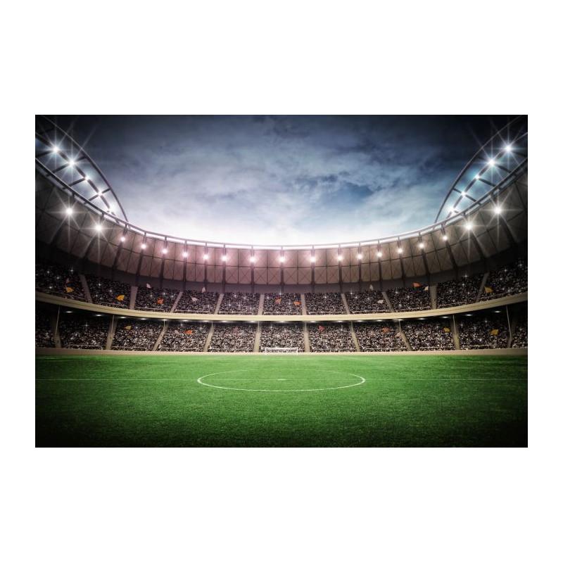Papier peint football d cor panoramique trompe l 39 oeil for Dec design interieur