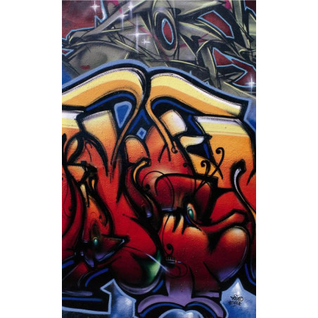 STREET TAGS Wall hanging
