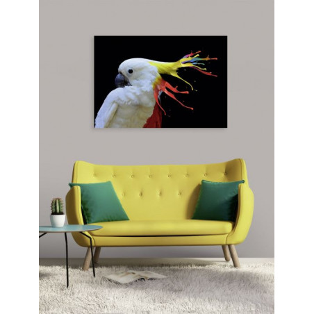YOU HAVE THE COMMIE LOOK canvas print