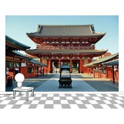 Poster TEMPLE AU JAPON
