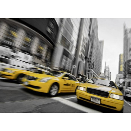 TAXI TIME canvas print