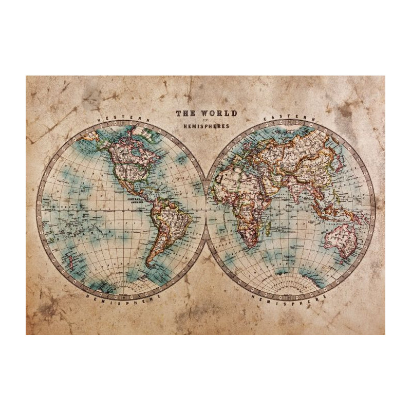 Tableau THE WORLD IN HEMISPHERES