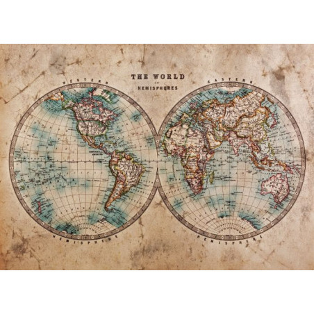 Tableau THE WORLD IN HEMISPHERES