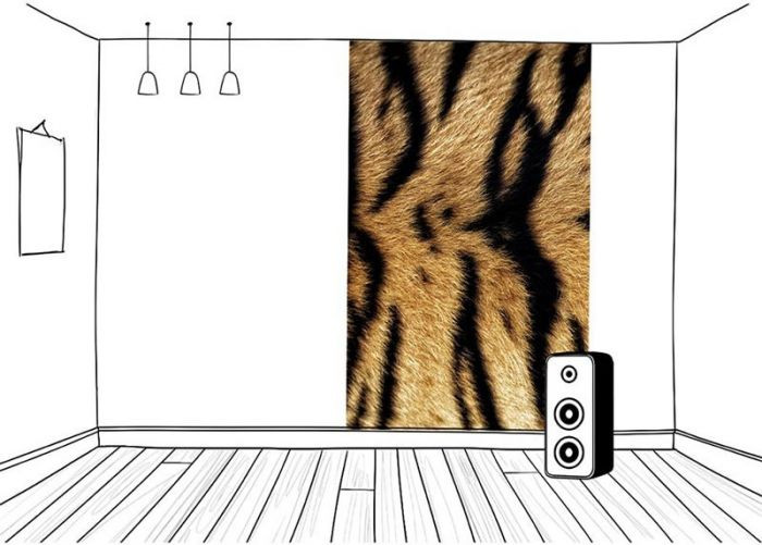 Idée brise vue balcon : brise vue palissade en bois coloré