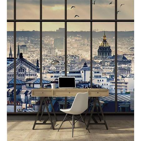 PARIS ROOFS Wallpaper