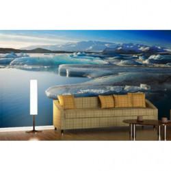 Papier peint panoramique banquise en Antarctique