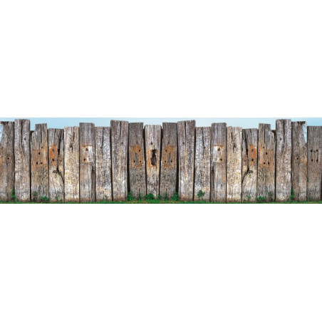 WOODEN WALL Privacy screen