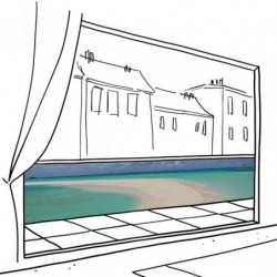 BARBADE privacy screen