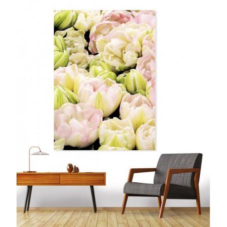 ROSE TULIP canvas print