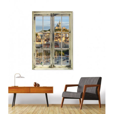 A LOOK AT MARSEILLE canvas print
