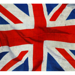 Papier peint USED UNION JACK