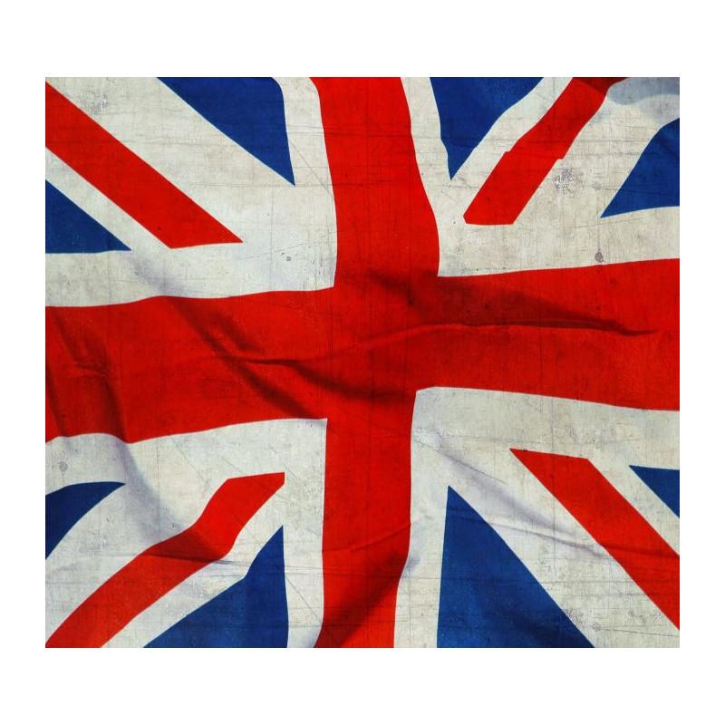 drapeau anglais imprim en poster panoramique union jack londres. Black Bedroom Furniture Sets. Home Design Ideas