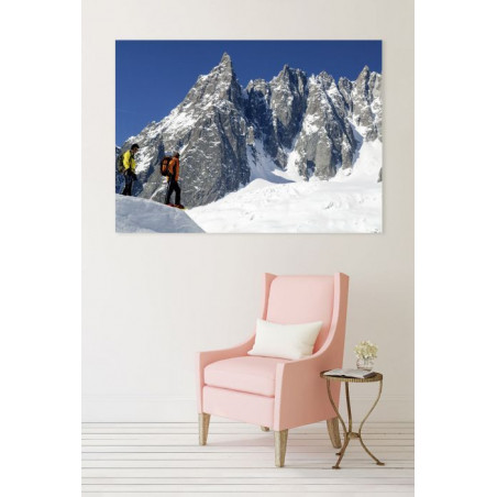 WHITE VALLEY canvas print