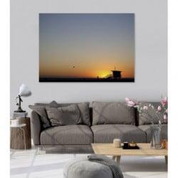 Tableau coucher de soleil en Californie