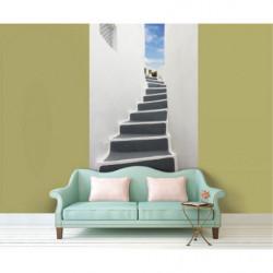 Tapisserie trompe l'oeil escaliers