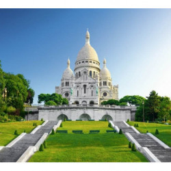 Affiche géante photo du sacré coeur à Paris