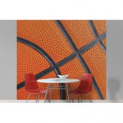 Poster orange basketball