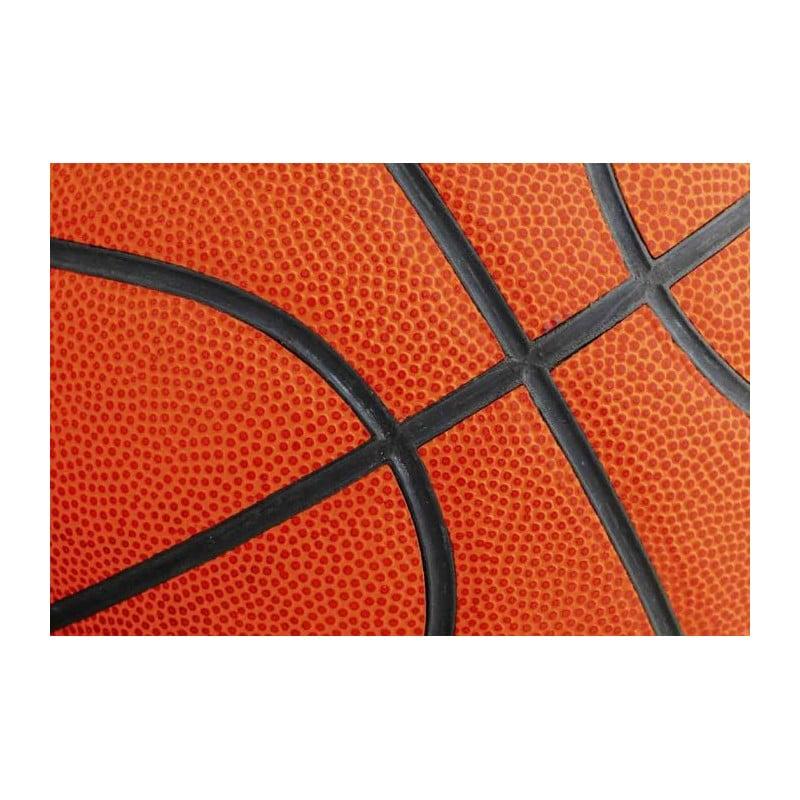 Poster salle de basket - Trompe-l'oeil terrain de basketball