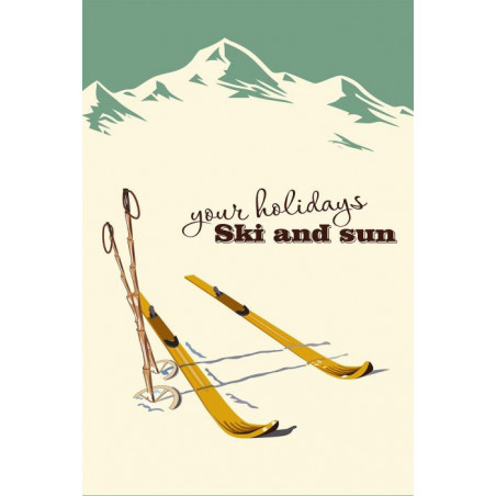 YOUR HOLIDAYS wall hanging