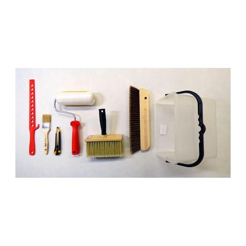 Kit d'accessoires pour colle en poudre
