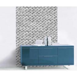 Grey wool angora wallpaper