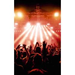 Poster déco photo d'un fond de scène d'un concert
