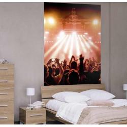 Giant concert wallpaper