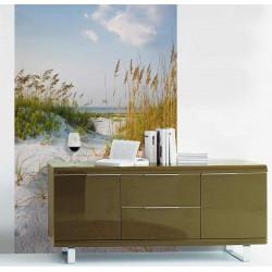 Poster plage de sable blanc