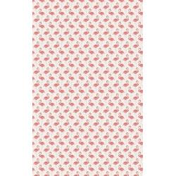 Very pink flamingos wallpaper
