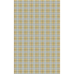 Poster with repetitive check patterns