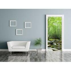 Poster grand format forêt enchantée