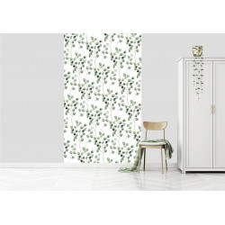 Papier peint motif eucalyptus