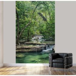 Poster forêt photo déco mural de nature