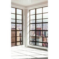 Papier peint trompe l'oeil loft à New York