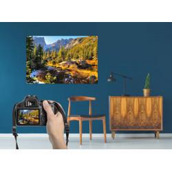 Tableau photo personnalisé toile ou verre