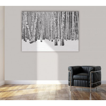 Tableau BLACK AND WHITE FOREST