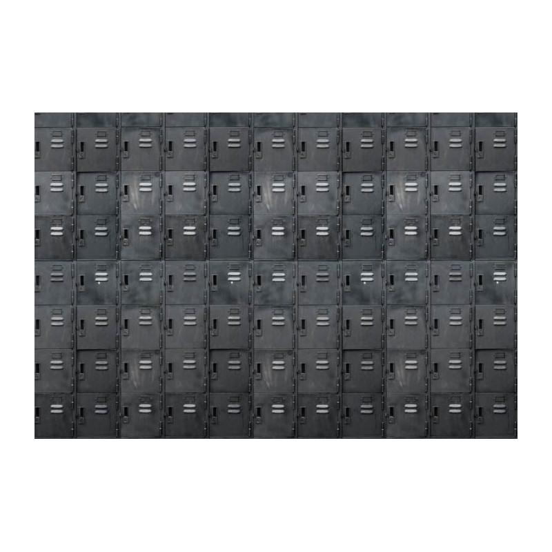 Papier Peint BLACK LOCKERS