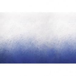 Poster dégradé peinture bleu
