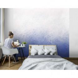 Papier peint dégradé de bleu format panoramique